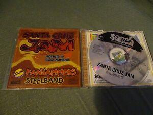 CD - SANTA CRUZ JAM - PANJAMMERS STEELBAND - CARIB