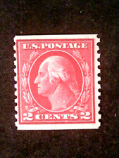 U S stamps Scott 444 two cent Washington issue mint sl watermark cv 120.00 B