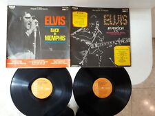 "VINYL 2LPS 12"" 33 ELVIS PRESLEY  ---FROM MEMPHIS TO VEGAS   ***ORANGE LABEL-IL**"