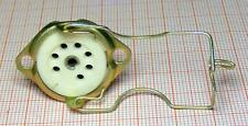 Socket ceramic for vacuum electron tube 7-pin old stock [7dr]