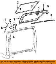 GM OEM Lift Gate-Weatherstrip Seal 15983928