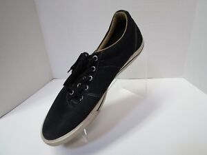 Converse Mens All Star Black Low Top Canvas Shoes Sneakers Size 11.5