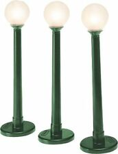 White HO Scale Model Train Lamps and Lights