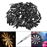 50/100/200PCS of Black Soft Tip Points For Soft Tip Darts Electronic Dart U3I4