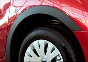 CITROEN DS3 wheel arch trims Matt Black 4 pcs wing & quater styling kit '10-16