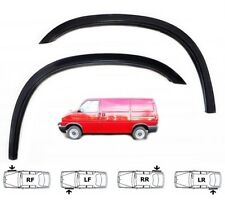 VW T4 FL brand new Wheel Arch Trim BLACK MATT Spats Front Rear set 4 pcs '95-03