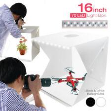 "16"" x 16"" Portable LED Light Photography Soft Box Shooting Tent Photo Studio NEW"