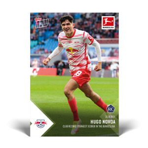 2021 Topps Now Bundesliga #56 Hugo Novoa RC RB Leipzig PRESALE