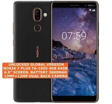 "NOKIA 7 PLUS TA-1055 4gb 64gb Octa-Core 13mp Fingerprint 6.0"" Android Smartphone"