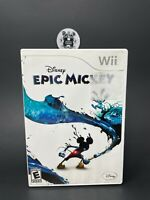 Epic Mickey (Nintendo, 2006) Complete Tested