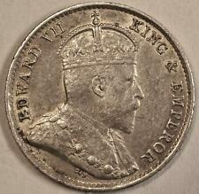 1903 Hong Kong 5 Cents Silver KM#12 1903年香港五分银币