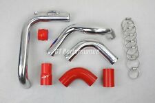 Kit Tubulure Piping Aluminium durites Megane 2 RS 225 230 R25 R26 R26R Rouge