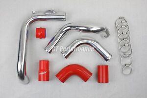 Kit Tubulure Piping Aluminium durites Megane 2 RS 225 230 R25 R26 R26R Rouge