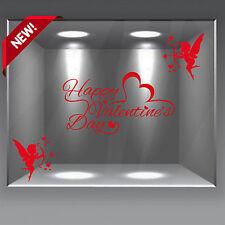 wall stickers adesivo san valentino vetrofania vetrofanie amore love cupido