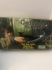 Crossbow Child Toy Blaster Playset Target Bow Arrow Pretend Hunter Archery