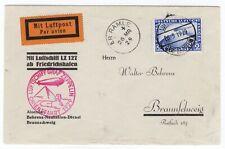 1929 Graf Zeppelin Orientfahrt Flight On Board Cancel - E.R. Ramle