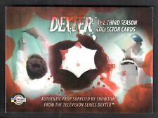 DEXTER SEASON 3 (Breygent) PROP CARD #D3 - P1 BLOOD SPATTERED TARGET PAPER
