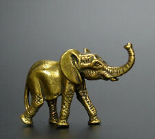 CHINA'S ARCHAIZE BRASS ELEPHANT SMALL STATUE