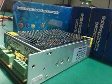 100-220V 12V 10A Sw Power Supply W/ Battery backup charging CCTV Security