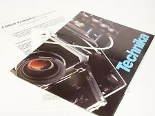 Original Linhof Super Technika 5x4 Camera Sales Brochure/Buyers Guide