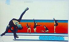 Vintage 1980 Original RoAcH Elite Gymnastics Iron On Transfer Super RARE!