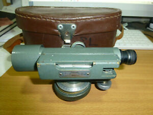 HILGER & WATTS SURVEYORS SIGHT DUMPY TYPE IN LEATHER CASE
