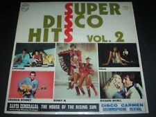 1978 Various – Super Disco Hits Vol. 2 Vinyl LP 黑膠唱片 Bend Me, Shape Me