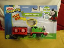 FISHER PRICE METAL THOMAS AND FRIENDS NEW ON CARD TALKING PERCY