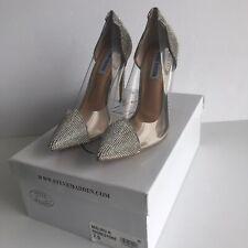 Steve Madden Cinderella Malibu-R Rhinestone BLING heels wedding shoes SZ 7.5 NEW