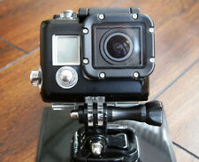 Gopro 3 Black Edition Blanco Negro Plata Piel para vivienda Sticker Decal Go Pro