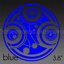 3.8 IN SEAL OF PRYDONIAN V2 GALLIFREY DOCTOR WHO RASSILON Decal Sticker 210