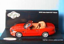 ASTON MARTIN DB7 VOLANTE RATHLIN RED VITESSE 20703 1/43 ROSSO ROUGE ROT