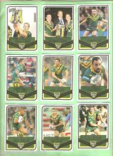 2005 TRADITION  RUGBY LEAGUE TRI NATIONS CARD SET - TN1 to TN25