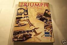 2000 moss TRIUMPH car restoration parts acc. catalog