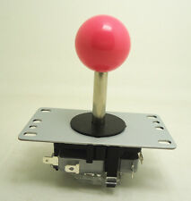 8 way type NO microswitch arcade game joystick with PINK for game machine