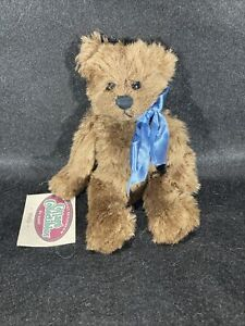"""The Cottage Collectibles By Ganz """"Wally"""" Bear 1996 Vintage New With Tags"""