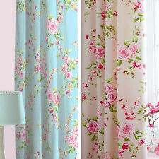 Polycotton Floral Modern Curtains
