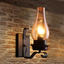 Industrial Vintage Wall Lamp Kerosene Loft Bar Wall Sconce Shade Retro Light US