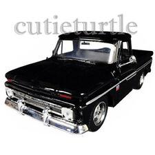 Motormax 1966 Chevrolet C10 Fleetside Pickup Truck 1:24 73355 Black