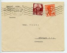 Romania 1938 cover to Germany (L980)