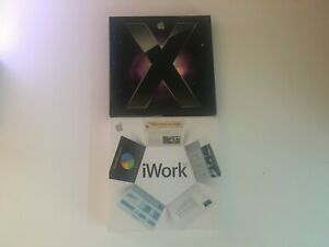 Apple Mac OS X Leopard 10.5 + iWORK 08  *GREAT CONDTION*Willing To Sell separate
