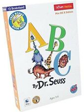 Dr. Seuss' Abc Mac Cd-Rom Software Os X Edition Learning Game (No Book) Kids