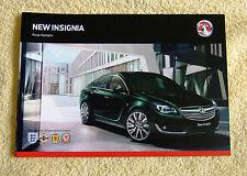 Vauxhall New Insignia Range Highlights June 2013, inc Elite, SRi, SE