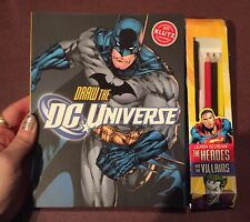 Draw The Dc Universe - Heroes & Villains Klutz Kids Drawing & Activity Book Kit