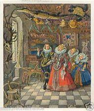 Wonder-rooms Cabinet of curiosities de curiosités Workman CARD Germany IMAGE 30s