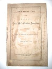 1859 Boston's Young Men's Christian Association, Eighth Annual Report