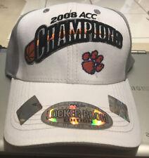 Clemson 2008 ACC ChampionOfficial Locker Room Edition Top Of The World Adj. Hat