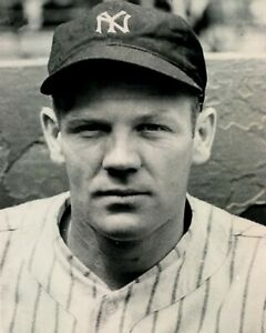 RED ROLFE 8X10 PHOTO NEW YORK YANKEES NY BASEBALL PICTURE MLB