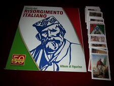 STORIA DEL RISORGIMENTO ITALIANO 2012: ALBUM VUOTO + SET COMPLETO PANINI NUOVO