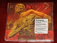Autopsy: Tourniquets Hacksaws And Graves Limited CD 2014 Peaceville Digibook NEW